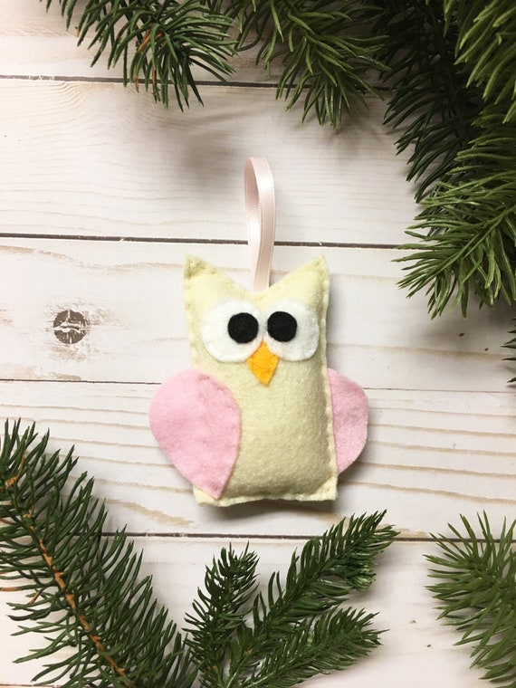 Owl Ornament, Christmas Ornament, Ornament, Betty the Owl