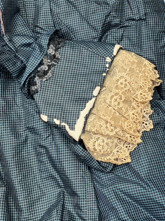 """Victorian / Edwardian bodice and skirt """"as is"""" - image 4"""