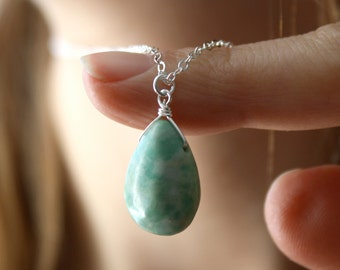 Tree Agate Pendant Necklace for Balance and Stability