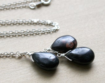 Natural Jasper Necklace for Protection and Grounding
