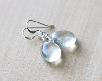 Green Fluorite Earrings for Stability and Protection