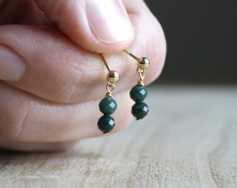 Bloodstone Studs for Decision Making and Courage