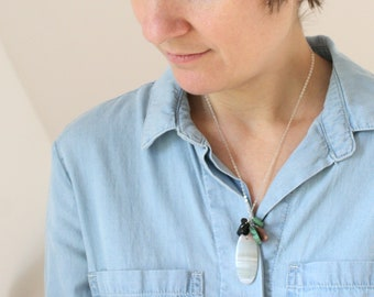 Personal Intention Necklace for Inspiration and Emotional Protection