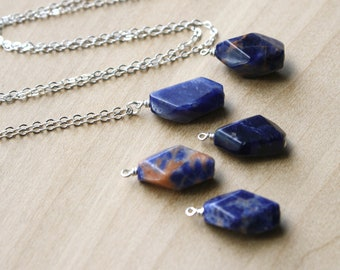 Sodalite Necklace for Tapping into Logic and Intuition