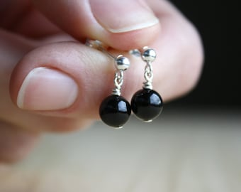 Black Onyx Earrings for being the Master of your Own Destiny