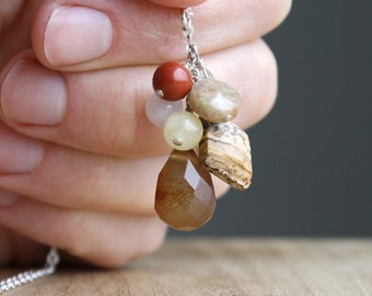 Personal Intention Necklace for Grounding and Comfort