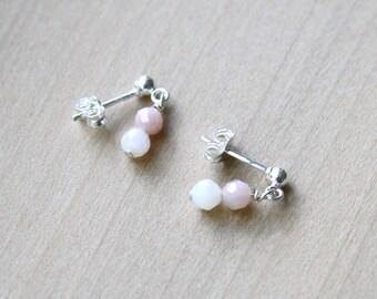 Pink Opal Earrings for Spontaneity and Creativity