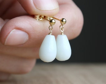 Amazonite Earrings for Calming the Mind and Connecting with Intuition