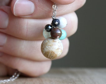 Personal Intention Necklace for Stress Relief and Balance