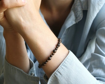 Bronzite Bracelet for Creativity and Decision Making