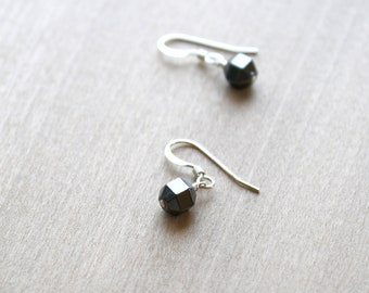 Hematite Earrings for Meditation and Anxiety Relief