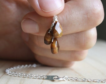 Tiger Eye Necklace for Balance and Harmony