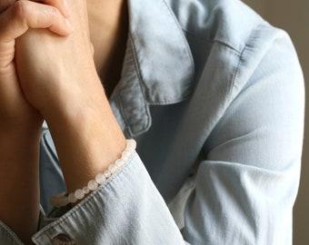 White Quartz Bracelet for Energy and Healing