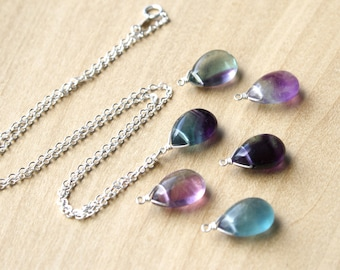 Fluorite Necklace for Removing Negative Energy and Increasing Concentration