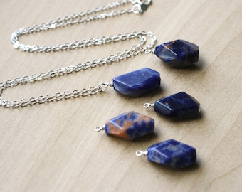 Sodalite Necklace for Intuition and Creativity