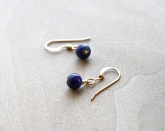 Lapis Lazuli Earrings for Solid Judgement and Understanding NEW