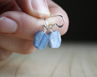 Blue Kyanite Earrings for Balance and Meditation