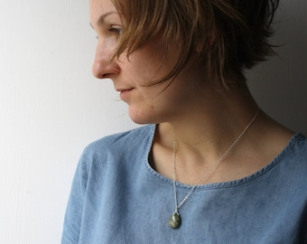 Rhyolite Necklace for Peace and Acceptance