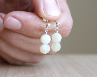 Natural Yellow Opal Earrings for Revitalizing Energy and Stimulating Creativity