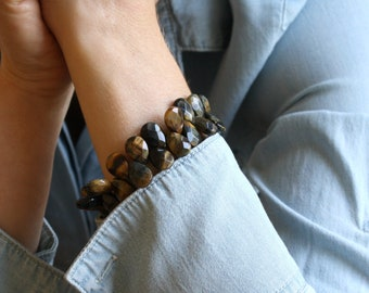 Hawks Eye Bracelet for Clarity and Anxiety Relief
