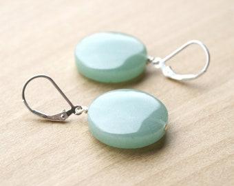 Green Aventurine Earrings for Prosperity and Leadership