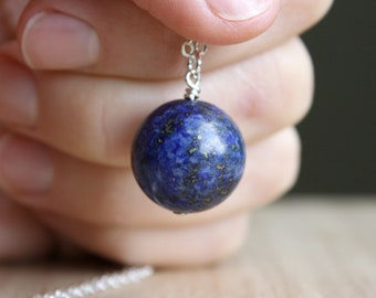 Lapis Lazuli Necklace for Strengthening Friendship and Self Expression