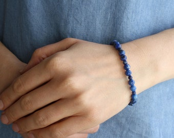 Lapis Lazuli Bracelet for Solid Judgement