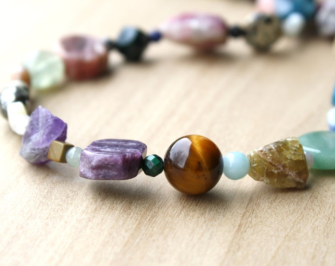 Featured listing image: Natural Crystal Collection Necklace