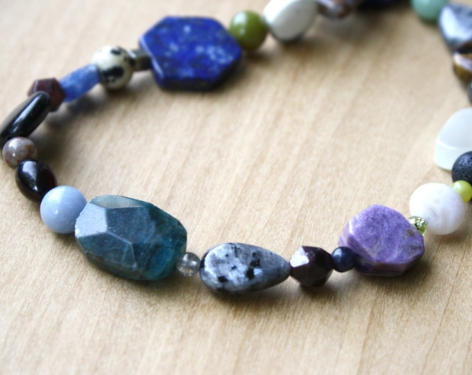Featured listing image: Natural Crystal Collection Necklace NEW