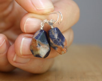 Sodalite Earrings NEW