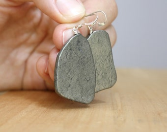 Pyrite Earrings NEW