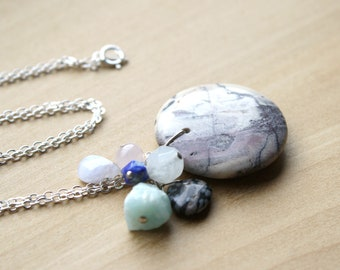 Personal Intention Necklace for Mental Health and Balance