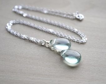 Green Fluorite Necklace for Clarity and Focus