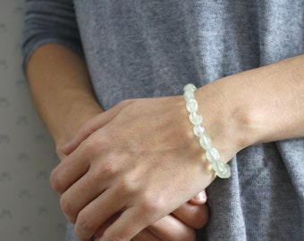 Prehnite Bracelet for Peace and Harmony