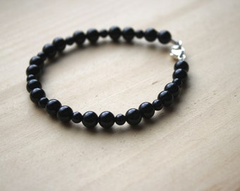 Black Onyx Bracelet for Strength and Support