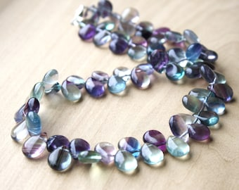 Rainbow Fluorite Necklace for Cleansing and Purification