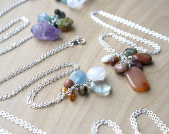 Personal Intention Necklaces with Natural Healing Stones - SOLD OUT