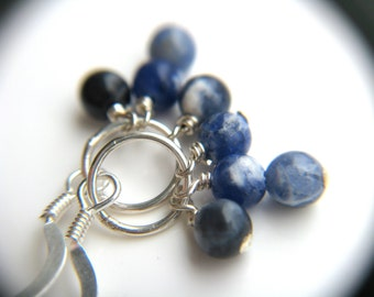 Blue Sodalite Earrings for Intuition and Creativity