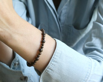 Bronzite Bracelet for Self Esteem and Ease in Decision Making NEW