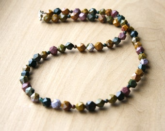Ocean Jasper Necklace for Strength and Comfort