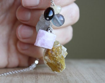 Personal Intention Necklace for Creativity and Clear Communication