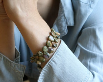 Rhyolite Bracelet for Inner Peace and Acceptance