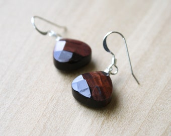 Tiger Eye Earrings for Harmony and Decision Making