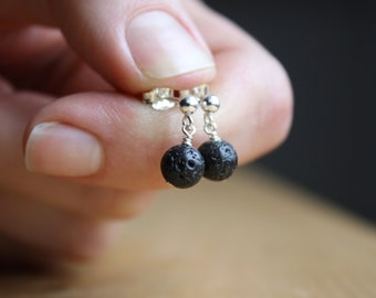 Lava Rock Diffuser Studs for Grounding and Calm