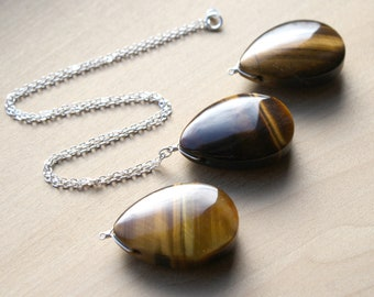 Tiger Eye Necklace for Clear Communication and Decision Making