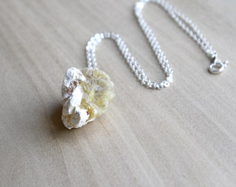 Raw Opal Necklace for Optimism and Independence
