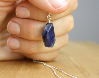 Orange Sodalite Necklace