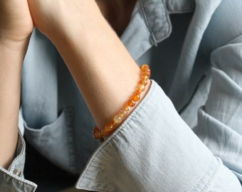 Carnelian Bracelet for Courage and Motivation