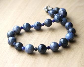 Beaded Stone Necklaces