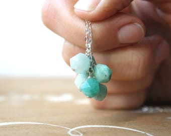 Brazilian Amazonite Necklace for Anxiety Relief